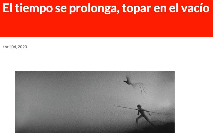 Desde su blog, en Guadalajara, Luis nos lleva a una propuesta distinta: buscar ahí adentro, en el interior, las respuestas a lo que puede ser un futuro después de la emergencia. No te lo pierdas!